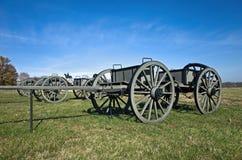 Vagone delle munizioni della guerra civile Fotografia Stock