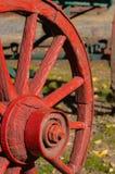 Vagone di legno del campo fotografie stock libere da diritti
