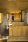 Vagone di legno della ferrovia Fotografia Stock Libera da Diritti