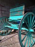 Vagone di legno dipinto Immagine Stock
