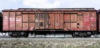 Vagone ferroviario del trasporto Immagini Stock Libere da Diritti