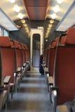 Vagone interno del treno Immagine Stock Libera da Diritti