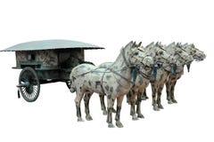 Vagone per il trasporto dei lingotti antico Fotografia Stock Libera da Diritti