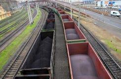 Vagoni del trasporto Immagini Stock