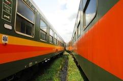 Vagoni del treno Fotografie Stock Libere da Diritti