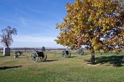Vagoni della guerra civile Immagine Stock Libera da Diritti