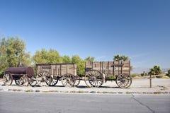 vagoni della squadra del Venti-mulo Fotografie Stock Libere da Diritti