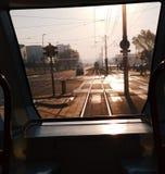 Vagons улицы стоковая фотография rf