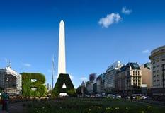 VAGOS - Cara moderna de Buenos Aires Foto de archivo libre de regalías
