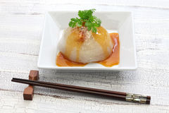 Vagos pálidos, bola de masa hervida mega bawan, taiwanesa Imagen de archivo