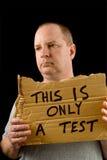 Vagrant Test Stock Image