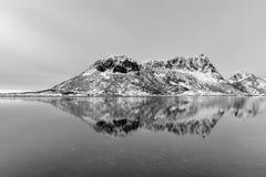 Vagspollen, Lofoten海岛,挪威 库存图片