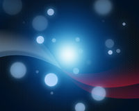 Vague électronique de Partical images stock