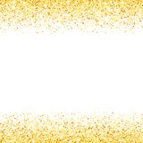 Vague abstraite d'étoile de scintillement de la poussière d'or de vecteur Image stock