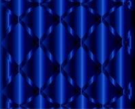 Vague bleu-foncé de fond abstrait Photographie stock libre de droits