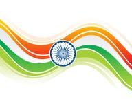 Vague créative artistique de l'Inde de résumé illustration de vecteur