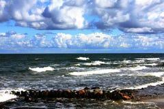 vague déferlante Photographie stock libre de droits