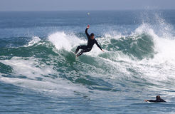 vague déferlante Photos stock