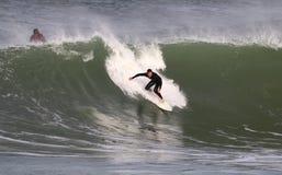 vague déferlante Images stock