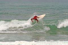 vague déferlante d'interne d'action Photo stock