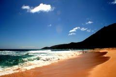Vague déferlante d'océan Image libre de droits