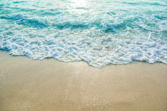 Vague d'océan dessus Photo libre de droits