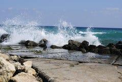 Vague de mer Photo libre de droits
