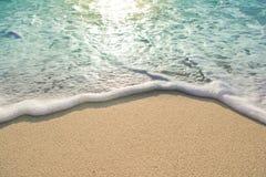 Vague de mer Image libre de droits