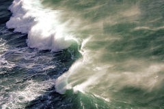 Vague de rupture de Noordhoek Images libres de droits
