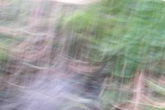 Vague image of a surface of the water of a stream royalty free stock photo