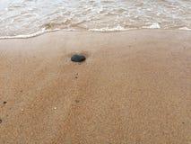 Vagues à la plage Photos libres de droits