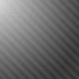 Vagues abstraites d'image tramée Photos stock