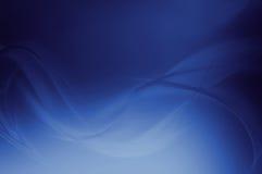 Vagues bleues illustration de vecteur