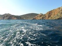 Vagues bleues de la Mer Noire Photographie stock