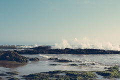 Vagues Cresting Images stock