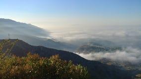 Vagues de brouillard Images libres de droits
