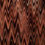 Vagues de chocolat Image libre de droits