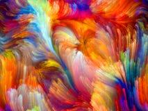 Vagues de couleur illustration libre de droits