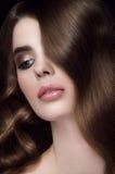 Vagues de hollywood de coiffure Image stock