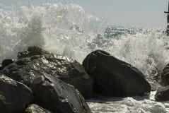 Vagues de la Mer Noire Images libres de droits