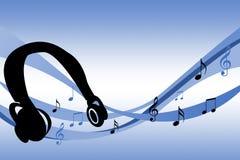 Vagues de musique Image libre de droits