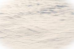 Vagues de neige Images stock