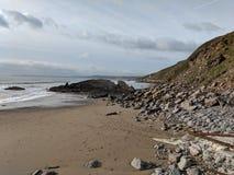Vagues de plage Images libres de droits
