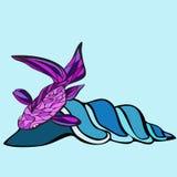 Vagues de poissons Image stock