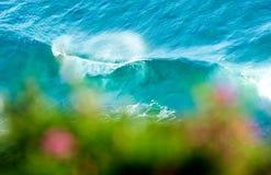 Vagues de printemps Photo libre de droits