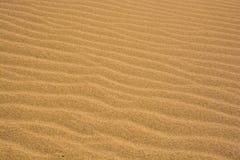 Vagues de sable Photos libres de droits