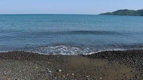 Vagues en mer Égée banque de vidéos