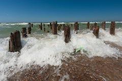 Vagues en mer Image libre de droits