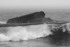 Vagues en mer Photo libre de droits