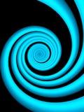 Vagues fond-bleues abstraites Photo libre de droits